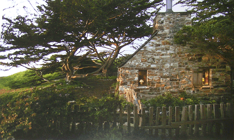 Exterior Images Of First Stone Cottage Home At Carmel